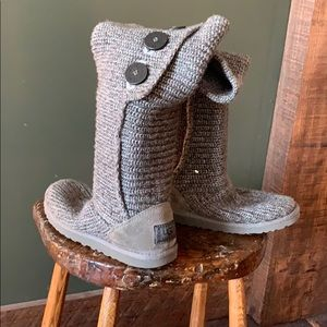Ugg tall Classic Cardy boots